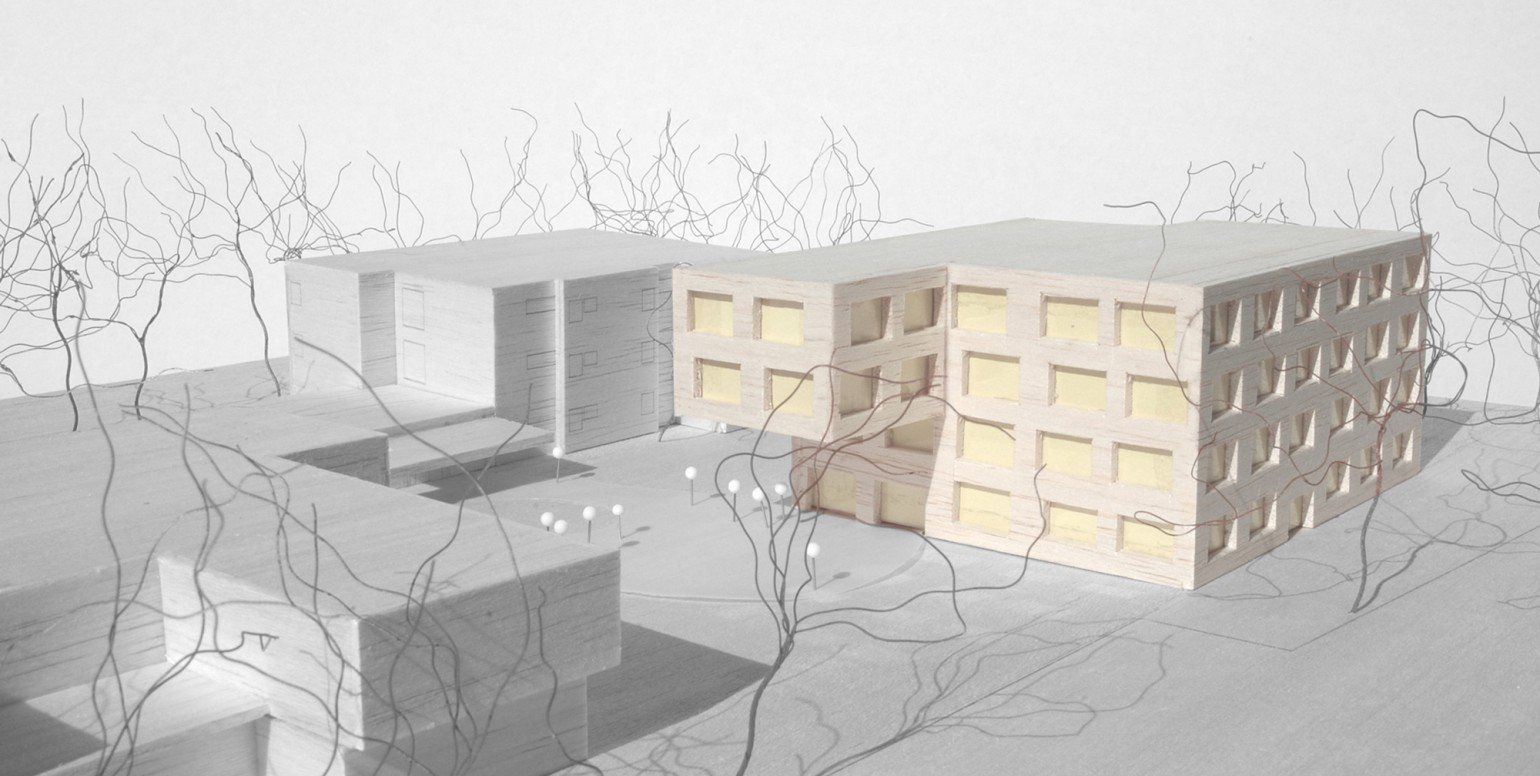 Ecole professionnelle meyer architecture sion for Meyer architecture