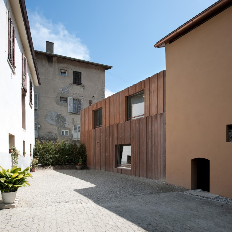 Fondation domus meyer architecture sion for Meyer architecture