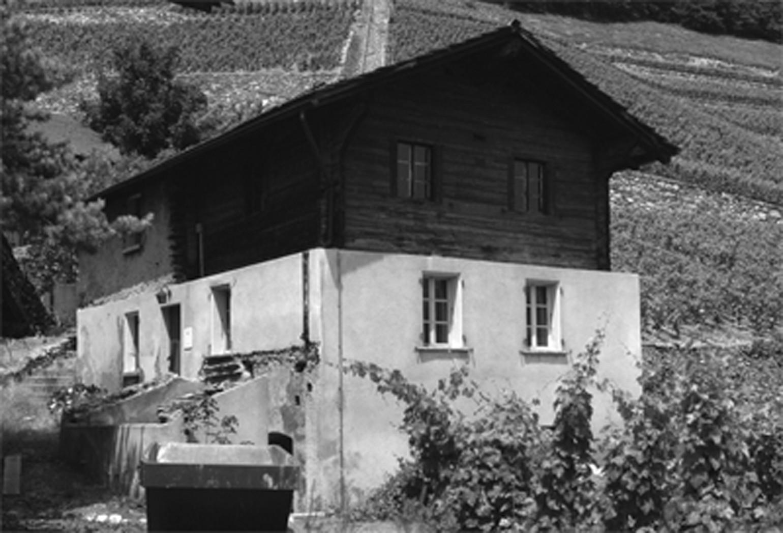 Maison germanier meyer architecture sion for Meyer architecture