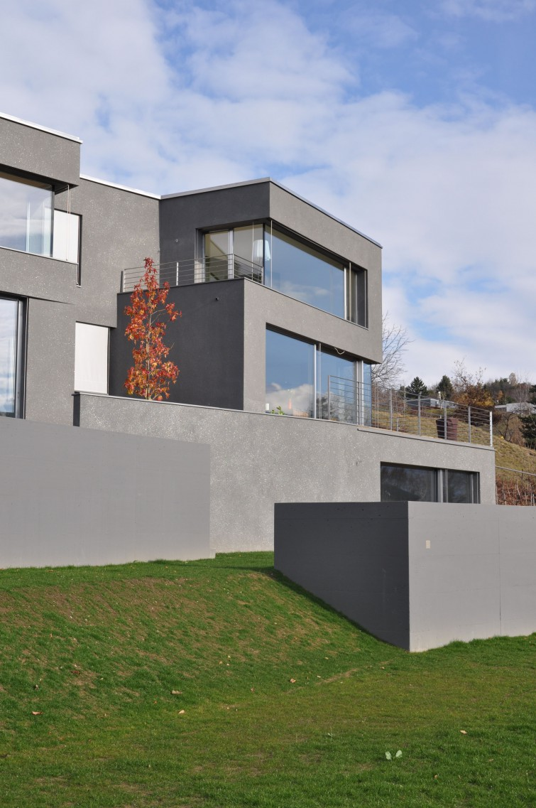 Maison Terrasse Meyer Architecture Sion