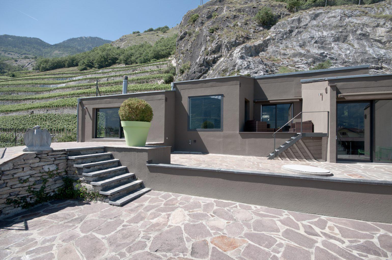 Maison senechal meyer architecture sion for Meyer architecture