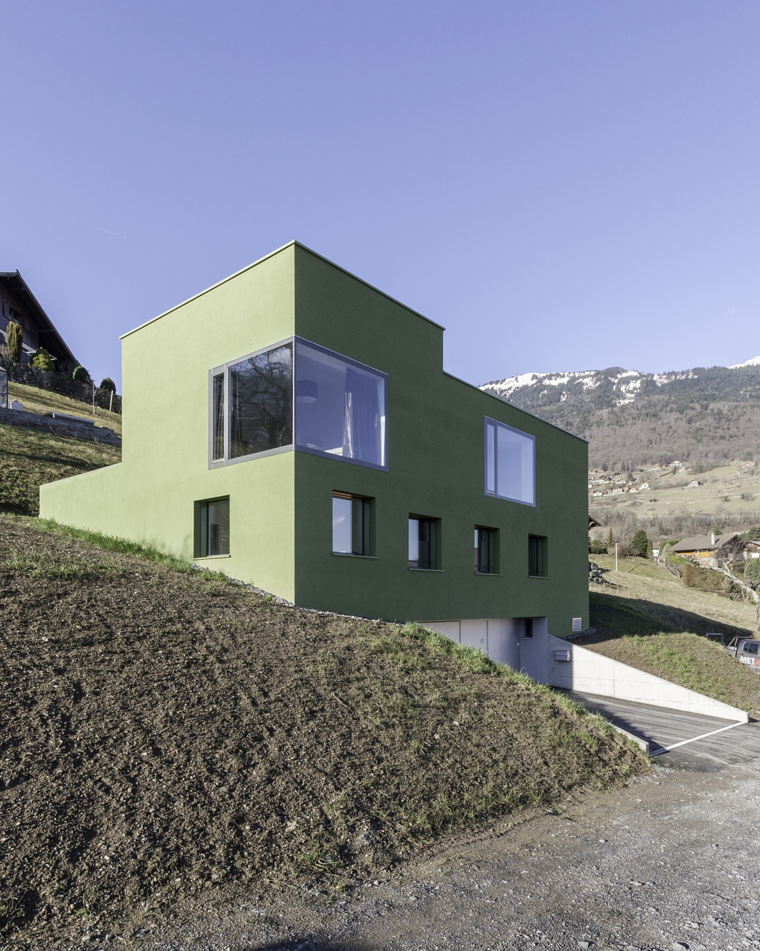 Maison catanese meyer architecture sion Meyer architecture