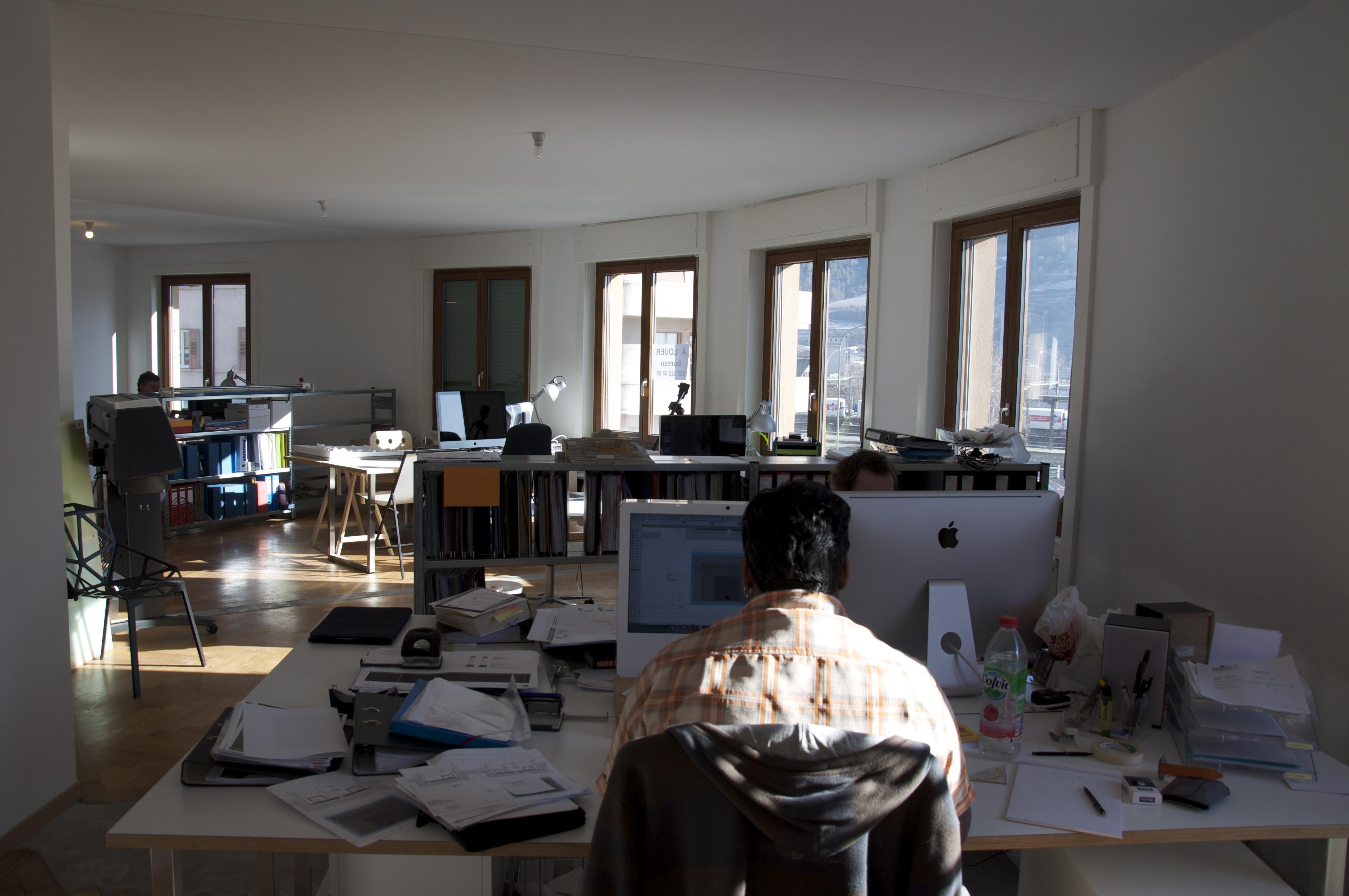Francois meyer architecte sion bureau 05 meyer architecture sion