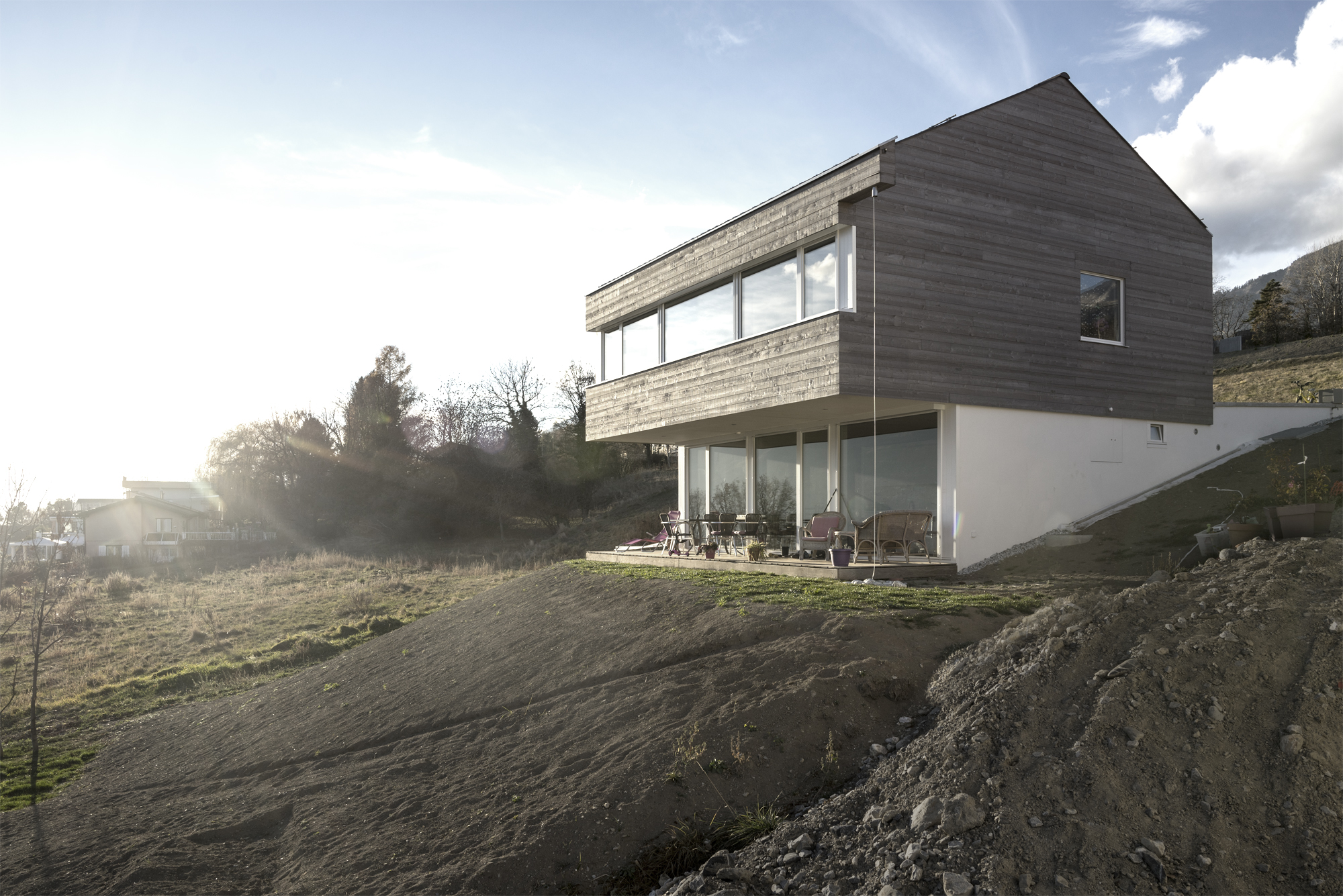 Maison fasel meyer architecture sion for Meyer architecture