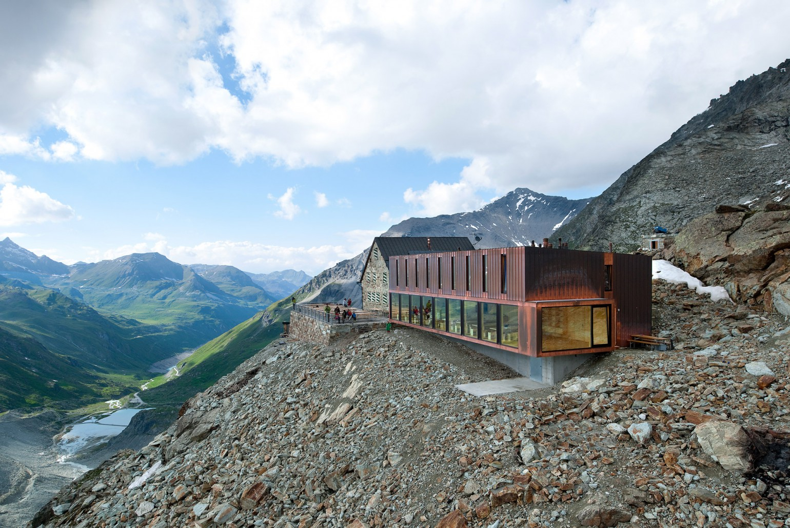 Cabane de moiry meyer architecture sion for Architecture suisse