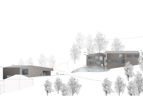 ecole primaire et salle de sport meyer architecture sion. Black Bedroom Furniture Sets. Home Design Ideas
