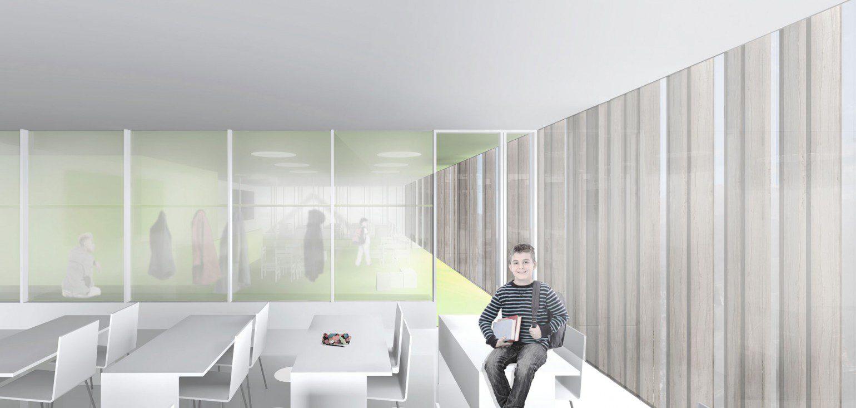 Ecole creche uape meyer architecture sion for Meyer architecture