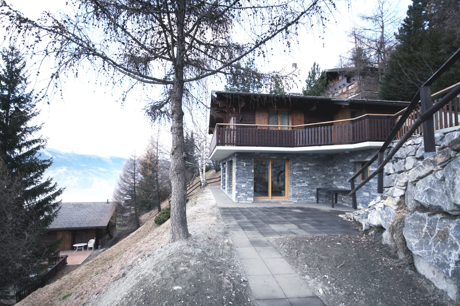 Chalet coulon meyer architecture sion for Meyer architecture
