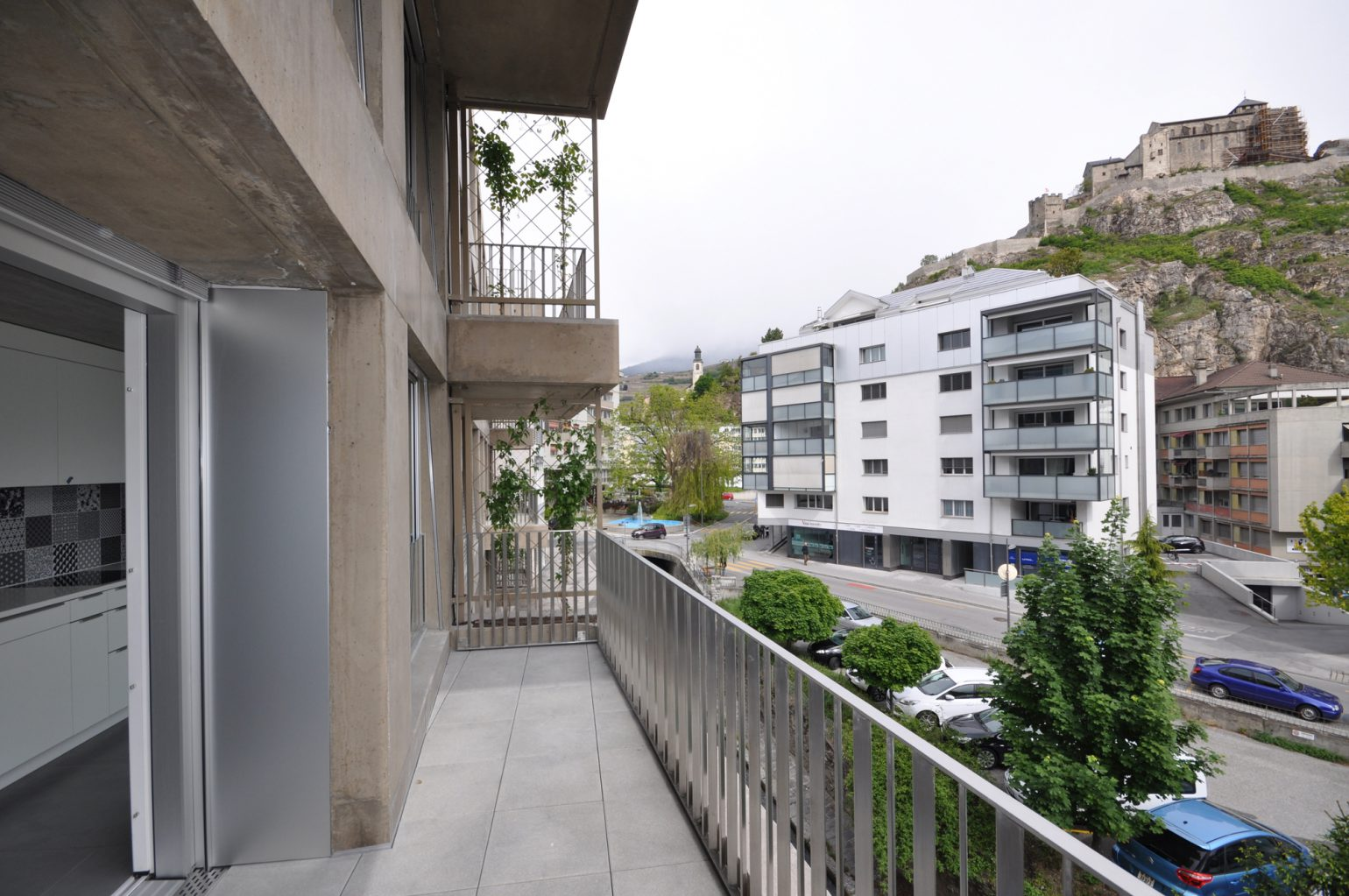 Immeuble dixence meyer architecture sion for Meyer architecture