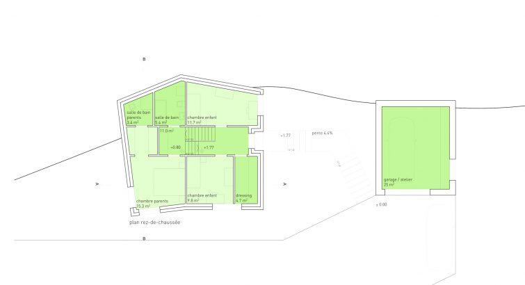 Maison Dubosson Meyer Architecture Sion